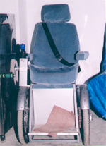 Automatic Wheel Chair with Electronic Joystick - 2005
